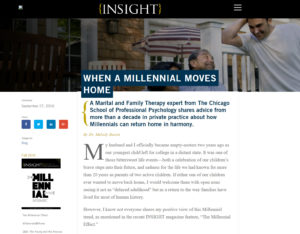 Higher education marketing through Insight magazine