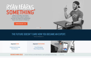Thought leadership content from Degreed