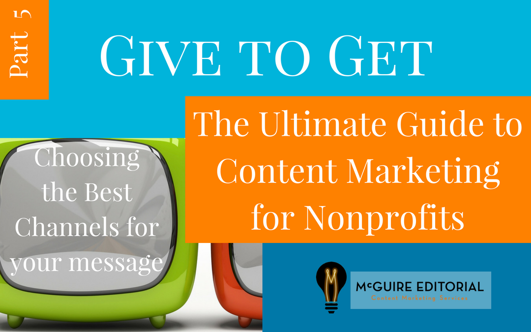 Your Nonprofit Blog is Not the Same as Content Marketing