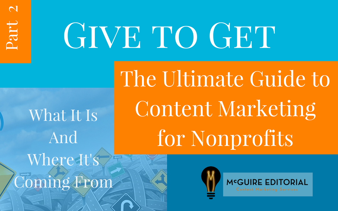 What Nonprofit Communications Can Learn From Content Marketing