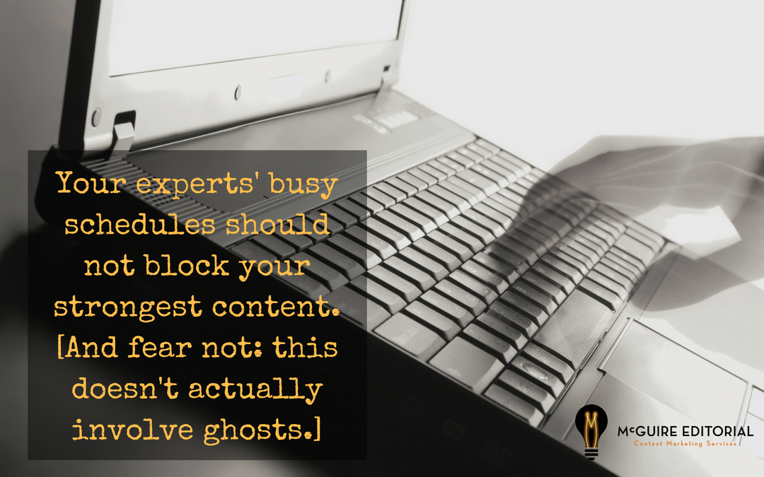 Hiring a Ghostwriter: Because Your CEO Has Big Ideas and Very Little Time
