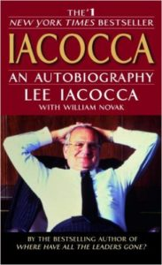 Lee Iacocca open celebrated hiring a ghostwriter