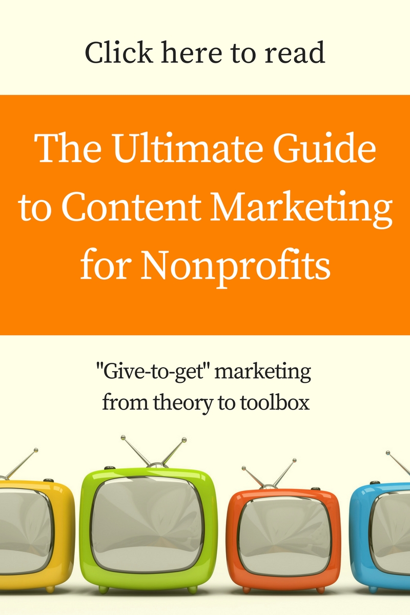 Ultimate guide to content marketing for nonprofits, nonprofit marketing plans and templates